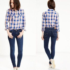 Levi's 710 Supper Skinny Everyday Jeans in Blue 27